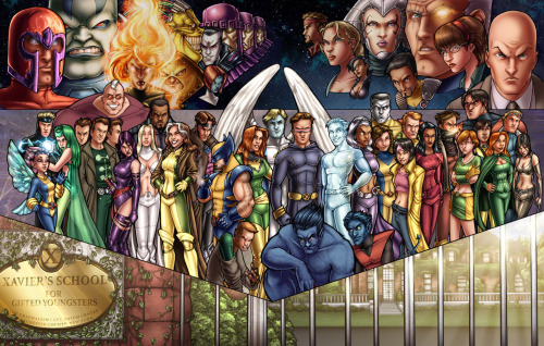 X-Men Color by ComfortLove  Currently hooked on X-men. <3