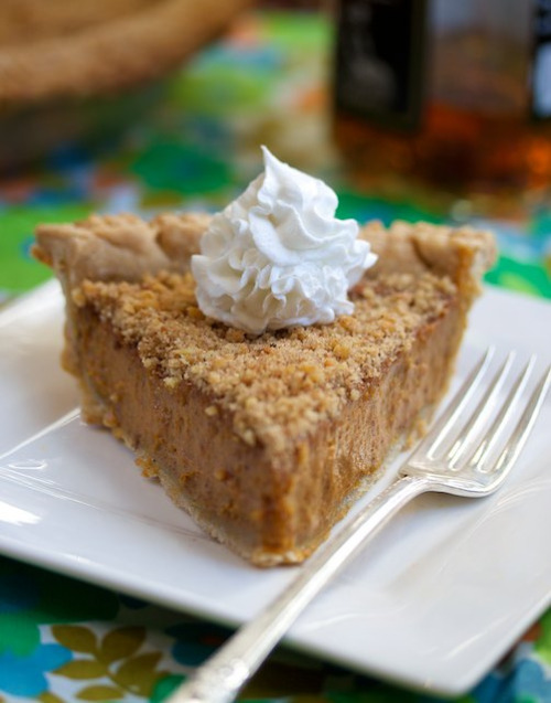 totasteheaven:  vegan & gluten-free bourbon pumpkin pie (1) by manifestvegan on Flickr.