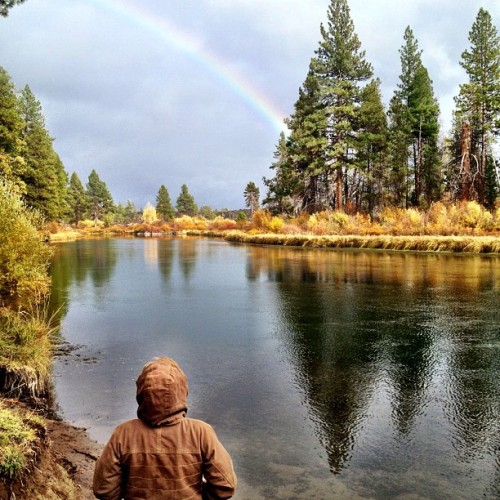 at Deschutes River