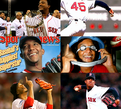 Alwayz n foreva our most favorite Red Sox.  VIVA EL DURO! red sox things | pedro martinez