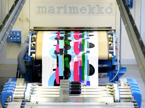 (via Design Milk) Awesome behind-the-scenes pics of the Marimekko-house in Helsinki, Finland.