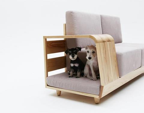 Dope.  Korean design. Dog House sofa.