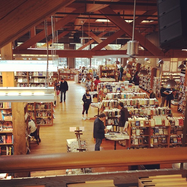 The Elliott Bay Book Company #seattle #books #brb