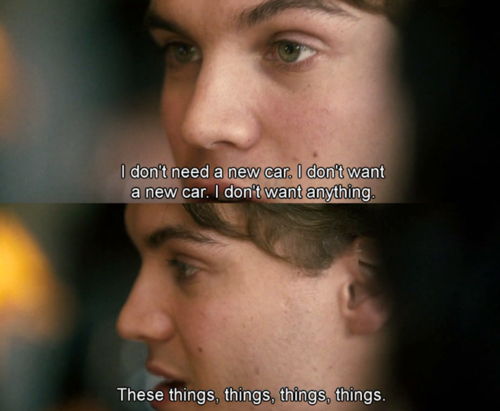 Emile Hirsch in Into the Wild (2007).