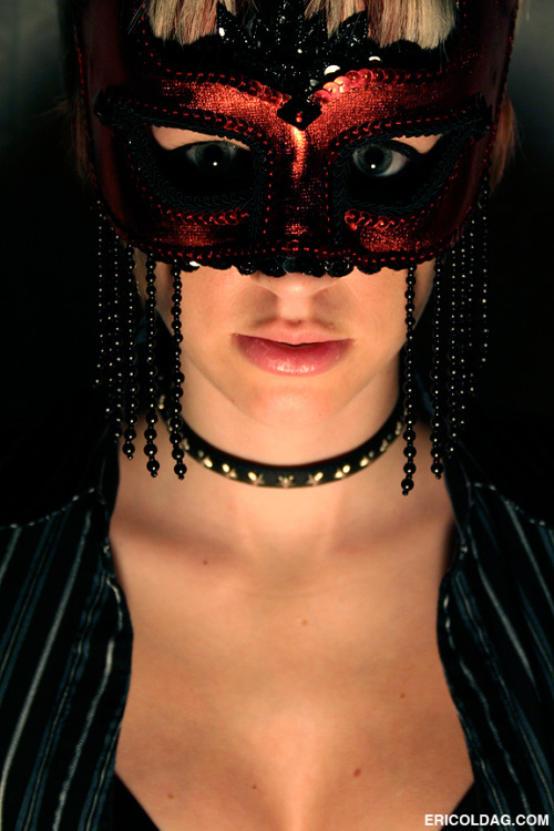 Masquerade Ball Mask Modeling Photography