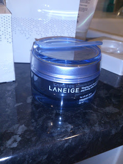 Review on: Laneige Firming Sleeping Pack http://kreamiblush.blogspot.co.uk/2012/10/review-laneige-firming-sleeping-pack.html