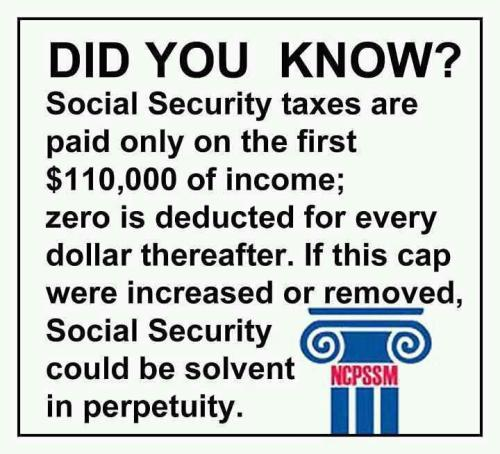 One way to keep Social Security Solvent
