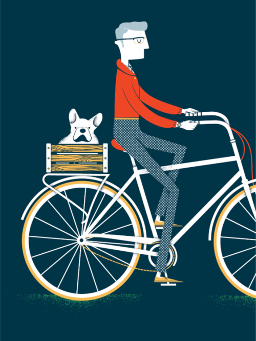 dearbicycle:  My bike/dog future.