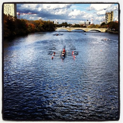 Head of the Charles cc: @bostontweet