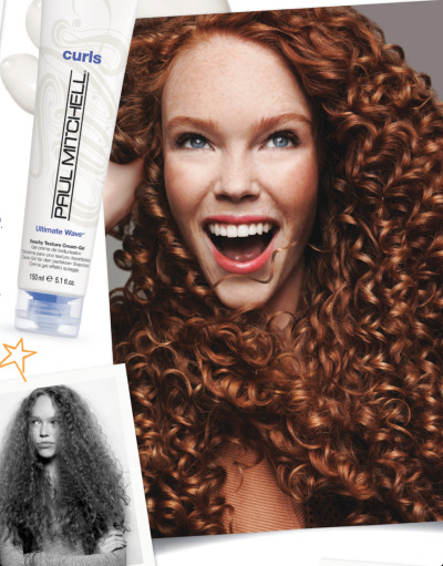 Alexandra Madar for Paul Mitchell: Curls Advertisement November 2012
