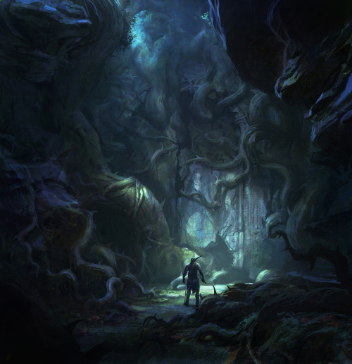 defenestrador:  Elven Passage, by George Rushing.