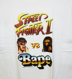 pigsfly:  Bape x Street Fighter