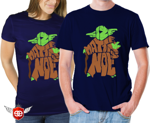 "20th-21st Oct $11 My Star Wars typography design featuring Yoda - ""Size Matters Not"" - is live at EpicEmbrace."