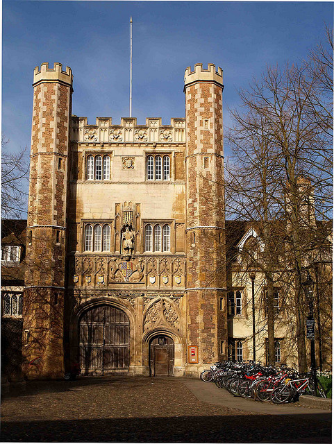 | ♕ |  Trinity College Gatehouse - Cambridge, UK  | by © Ken Hircock