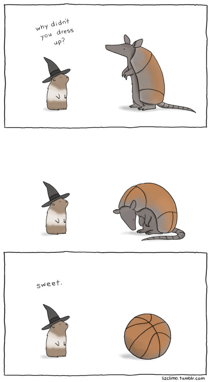 lizclimo:  i wanna be a football for halloween.   Clever.