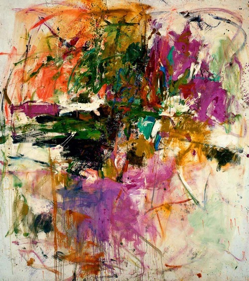paywhatyouwant:  Joan Mitchell - Untitled (1961)   you get what you get.  and joan knew it.