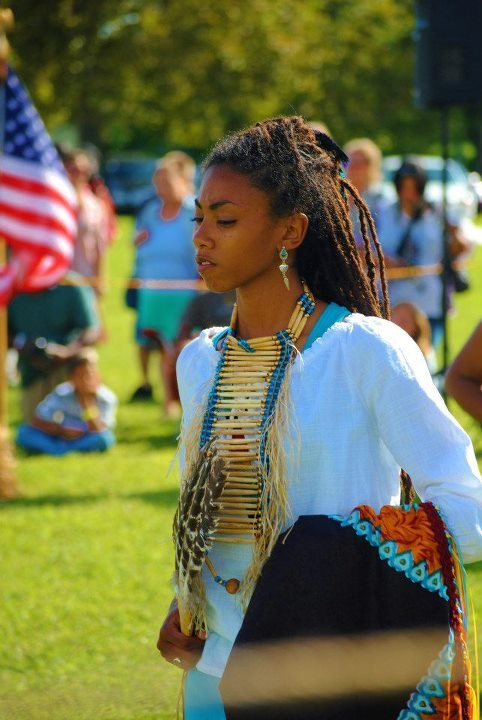 at the 2012 Nottoway Indian Powwow. photo credit: Allard Allston