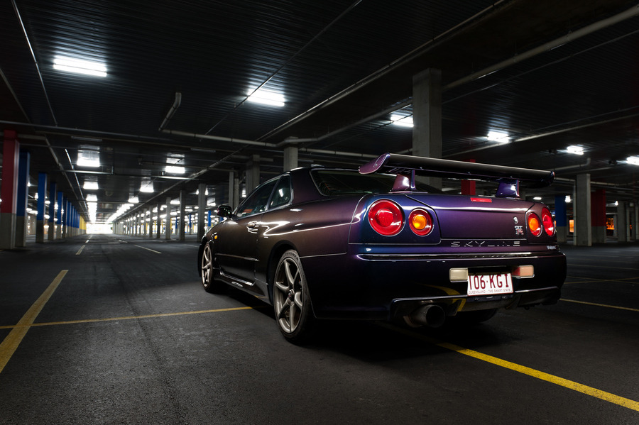 "automotivated:  (via 500px / Photo ""R34 GTR V-spec 2"" by PJ Moran)"