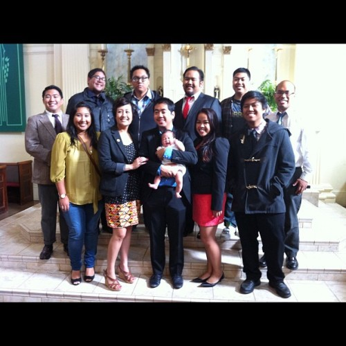 Enders baptism today!:D