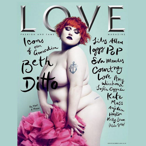 Beth Ditto - Love Magazine