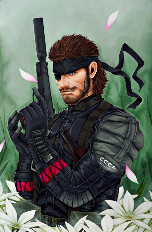 gamersashi:  Metal Gear Solid: Snake
