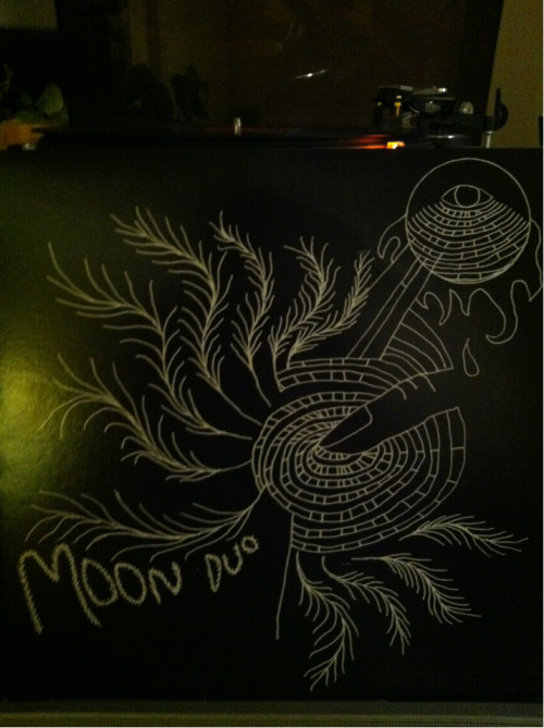 Moon Duo - Escape Woodsist (038) 2010  Nice follow up to creepy pre-Halloween activities.