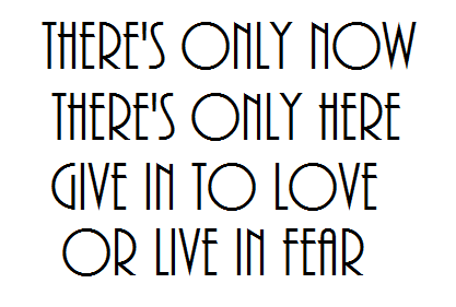 secretdreamlife:  …and I refuse to live in fear. http://secretdreamlife.tumblr.com