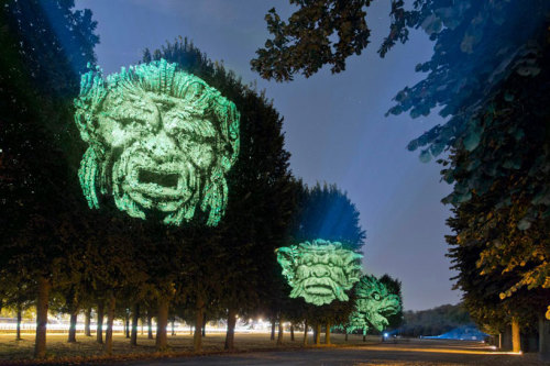 Gargoyle Tree Projections