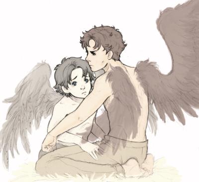 Inspired by Ellie's Wings!AU