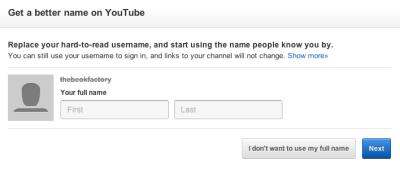 uhhhhh fuck you youtube im not changing from thebeokfactory. thats my thing