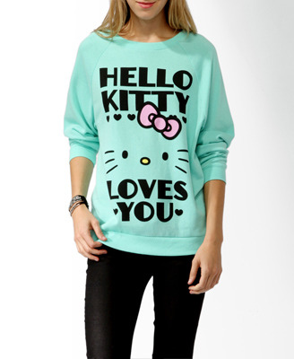 hello-kitty:  Hello Kitty® Loves You Pullover - $22.80