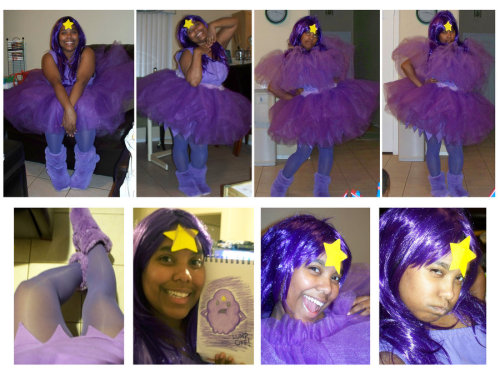 cosplayingwhileblack:  I am Lumpy Space Princess by *Tanis711 Character: Lumpy Space Princess Series: Adventure Time  She is just adorable. *_*