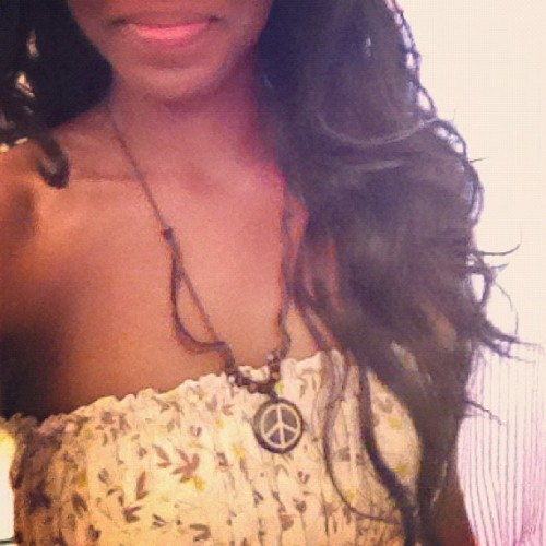 This dress and this necklace will reside in my life for the rest of eternity. The closest things I have of you @charr0306