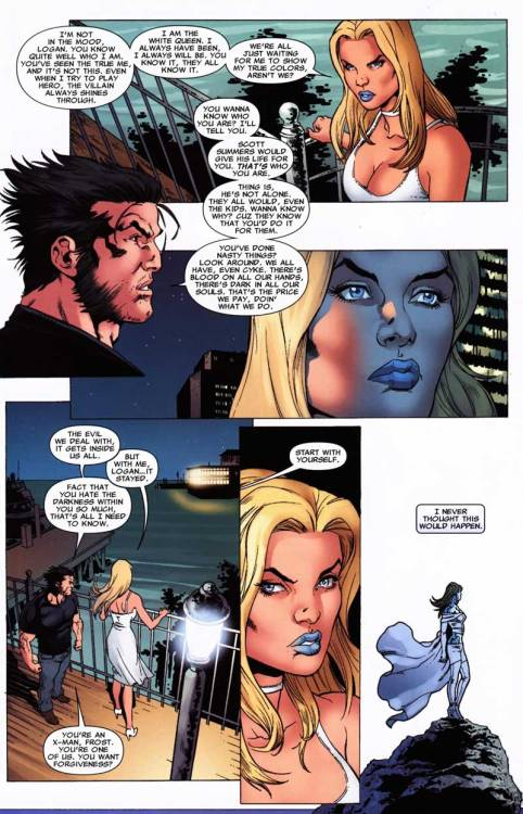 X-Men: Manifest Destiny  She can rock that lipstick like no other.
