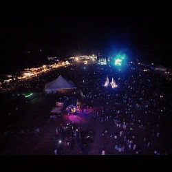 Will took this when we were at the top of the ferris wheel at Camp Bisco 11, Bassnectar on the stage, easily the best nite of my life <33