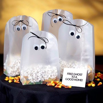 popcorn bag ghosts「み」