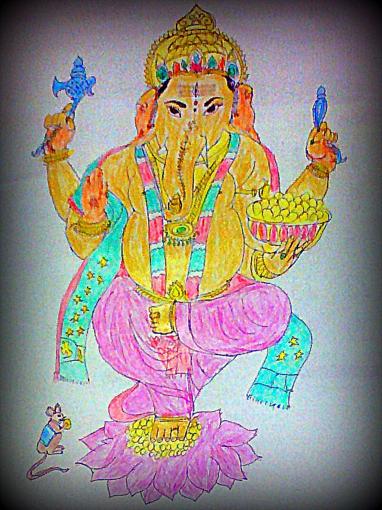 Lord Ganesha Portrait