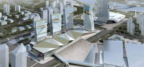 Nanjing International Expo Center South Expansion by tvs Design