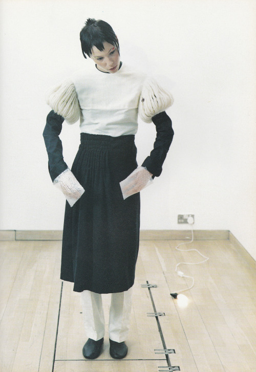 """Still Life"", Alissa Bennett by Kayt Jones for i-D, September 1998"