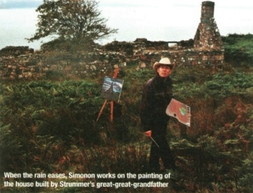 Paul Simonon's visit to Skye From Scotland Sunday Herald, 14th December 2003  Just beautiful…