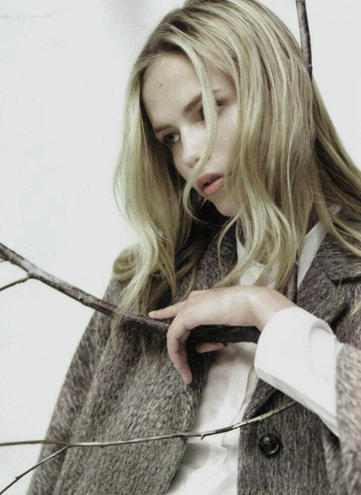 Natasha Poly photographed by Willy Vanderperre for COS Fall/Winter 2008 Ad Campaign.