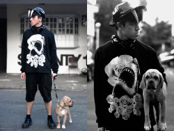 ALL BLACK & ALL WHITE SEASON lookbookdotnu:  DARKWAVES (by Paul Jatayna)
