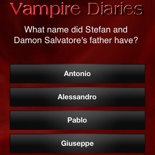 Guys what's the answer? #nofilter #TVDapp #TVDquiz #cheater