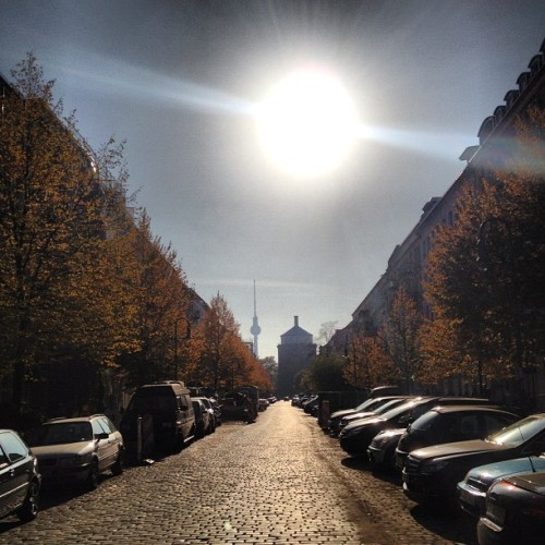 What a perfect autumn season so far. Berlin, you're doing it right this year. (at Albrechts Patisserie)