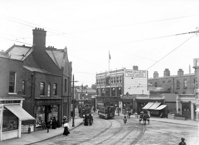 Junction, Rathmines by National Library of Ireland on The Commons on Flickr.
