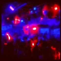 #headphones #silentdisco #night #club #red #blue #camelclub
