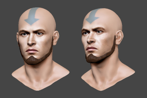 azulaang:  Zbrush Adult Aang by  tom parker