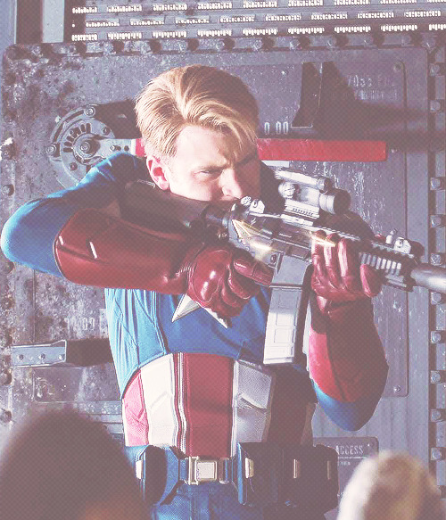 one hundred photos ★ steve rogers