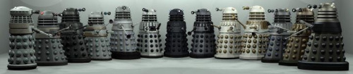 littlecrazyy:  The evolution of the Dalek.