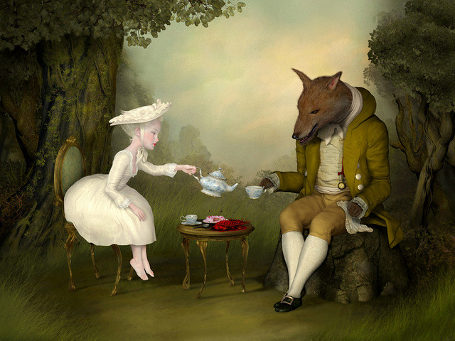 """Tea With Me And He And I"" by Ray Caesar"